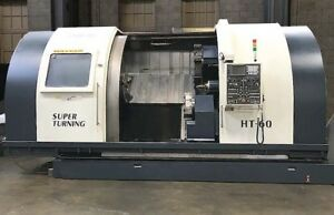 Cnc 4 Axis Twin Turret Lathe