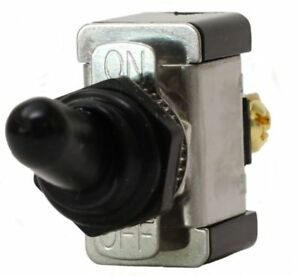 Fastronix Spst On off Heavy Duty 20 Amp Toggle Switch With Weatherproof Neoprene