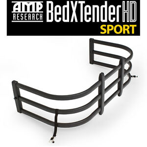 Amp Research Black Bedxtender Hd Fits 2005 2016 Toyota Tacoma Standard Bed