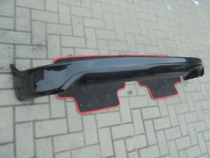 2001 2005 Oem Honda Civic Type R Si Rear Bumper Lip Ep3 Jdm Black
