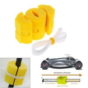New Universal Magnetic Gas Fuel Power Saver For Car Vehicle Reduce Emission