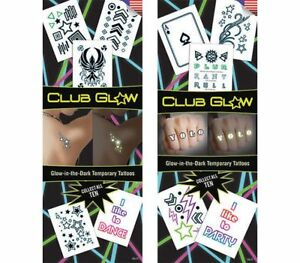 Sticker Flat Vending Machine Capsule Toys Club Glow Tattoos