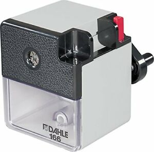 Dahle 166 Premium Pencil Sharpener W point Adjuster Automatic Cutting System