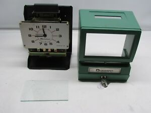 Acroprint Heavy Duty Manual Time Recorder Time Clock 125nr4
