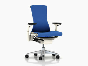 Embody Chair by Herman Miller Berry Blue Balance Brand New