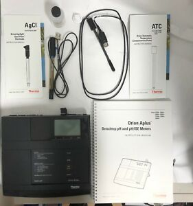 Thermo Orion 9165bn 917005 Atc Probe With Din Connector 233553 a0 410 Aplus