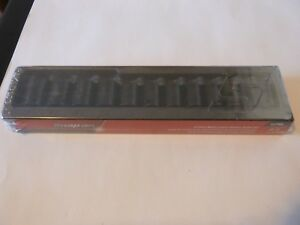 New Snap on 1 2 Dr 12 Pc Shallow Impact Socket Set 312imm 15 25 27 Mm