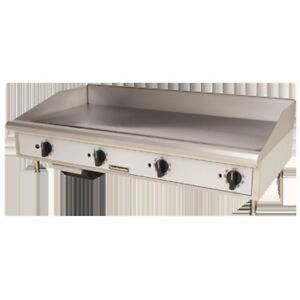 Griddle Flat Top Grill Gas 48 Manual Toastmaster Tmgm48