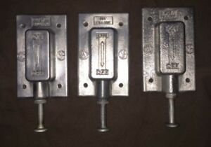 Vintage Killark Explosion Proof plunger Switches