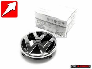 Original Vw Front Grill Badge Emblem Chrome 3b0853601 Ulm