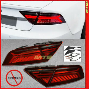 Lci Facelift Style W Sequential Led Tail Light For Audi A7 S7 Rs7 2012 2015