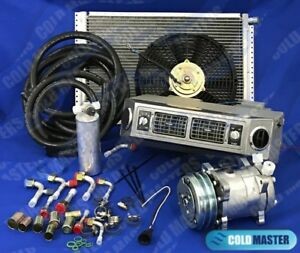 A C Kit Universal Under Dash Evaporator 406s 12v W Electrical Harness