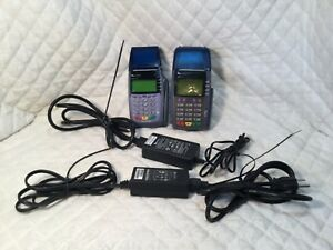 Verifone Vx510 Credit Card Terminal With Power Supply s Omni 3730