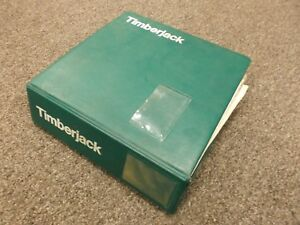 Timberjack 230f 380 450 480 225 240s 550 Skidder Forwarder Parts Catalog Manual