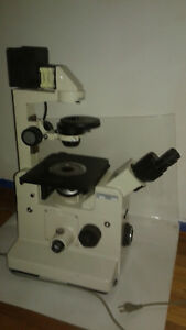 Nikon Inverted Phase Contrast Elwd 0 3 Diaphot Microscope Used Condition