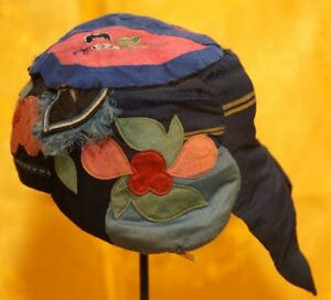 Old Chinese Hand Embroidery Child Hat