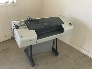 Hp Designjet T610 Wide Format Color Plotter Printer