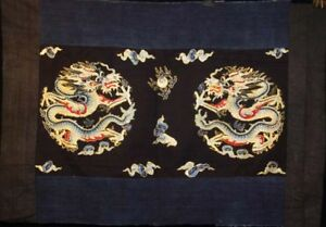 Chinese Old Hand Dragon Embroidery