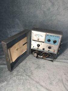 B K Model 465 Cathode Ray Tube Tester Manual Stock G 484