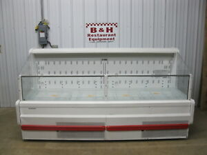 Hill Phoenix Upa8 Refrigerated Open Air Cheese Sushi Produce Bakery Display Case