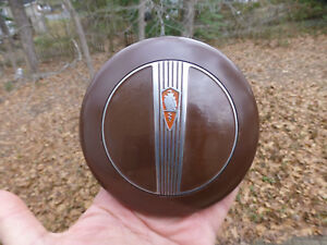 1940 Plymouth Roadking Steering Wheel Horn Button 2 Pieces