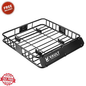 Universal Car Roof Basket Heavy Duty Cargo Luggage Rack Top For Car Suv Truck