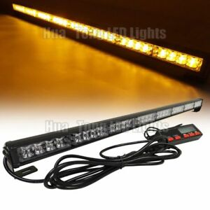 35 32 Led Warn Traffic Advisor Emergency Flash Amber Tow Truck Strobe Light Bar