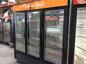 True Gdm 72f Three Glass Swing Door Freezer