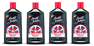 4 Pack Barrett jackson Chrome Metal Polish Cleaner Aluminum Cleaner Car