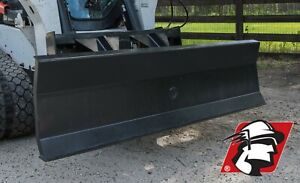Heavy Duty Dozer Blade Skid Steer Attachment Standard Large Extra Large Size