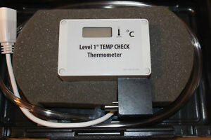 Smiths Model hlta 40 Level 1tamp Check Thermometer Fluid Warmer
