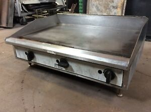 36 Toastmaster Tmgm36 Manual Gas Griddle