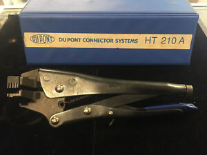 Dupont Connector Systems Ht 210a Hand Crimper Crimping Tool Ratchet