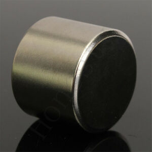 Super Strong Round Cylinder Fridge Magnet 25x20mm Rare Earth Neodymium N52