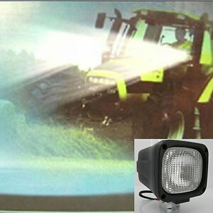100w Hid Xenon Work Light 2pcs 12v 4300k Flood Ligh Suv4x4 Truck Excavator Boat