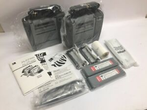 Zebra Pt471 Portable Barcode Label Printer lot Of 2 Pt471 000 10000