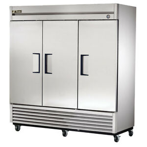 True T 72f hc Commercial Reach in Solid Swing Door Freezer