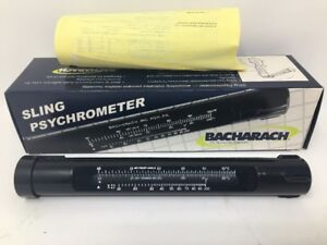 Bacharach Sling Psychrometer 12 7013 5 Celsius To 50 c 23 f 122 f