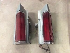 Rare Tail Lights Fits 80 To 84 Lincoln Town Car
