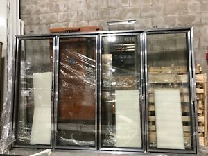 Commercial Glass Doors For Walk in Refrigeration Beverage Cooler