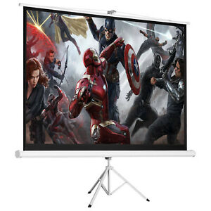 Portable Projector Screen 100 Tripod Projector Screen Projection Screen Stand