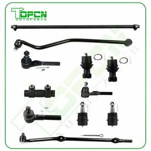 11pc Front Suspension Kit Sway Bar For 1993 1998 Jeep Grand Cherokee 4 0l Only