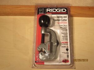 Ridgid No 15 Tubing And Conduit Cutter 3 16 To 1 1 8 O d Pipe 32920