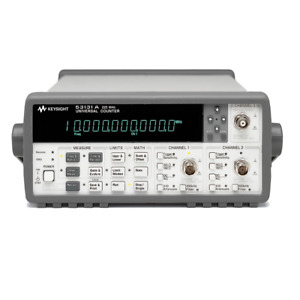 Keysight Agilent 53131a used Universal Frequency Counter