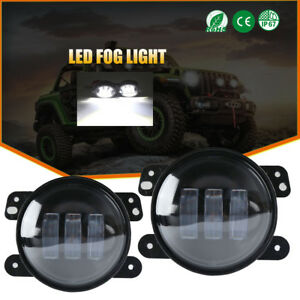 For Jeep Grand Cherokee 2011 2013 2x 4 Inch Led Driving Lamp Bumper Fog Lights