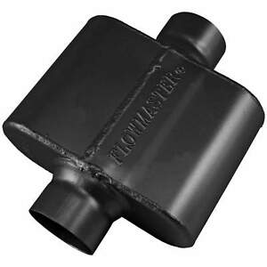 Flowmaster Universal 10 Series Race Muffler 2 50 Ctr In 2 50 Ctr Out
