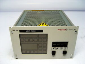 Pfeiffer Vacuum Tcp 380 Turbo Vacuum Pump Controller Pm C01 680