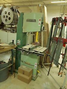 General International 18 Heavy duty Wood Cutting Bandsaw