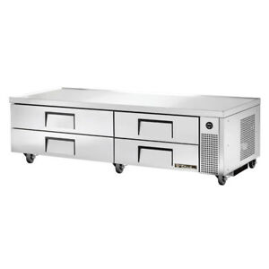 True Trcb 82 Commercial Refrigerated Chef Base