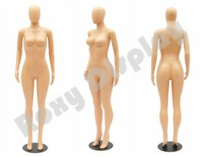 Female Brazilian Style Full Body Mannequin With Rotating Arms Base